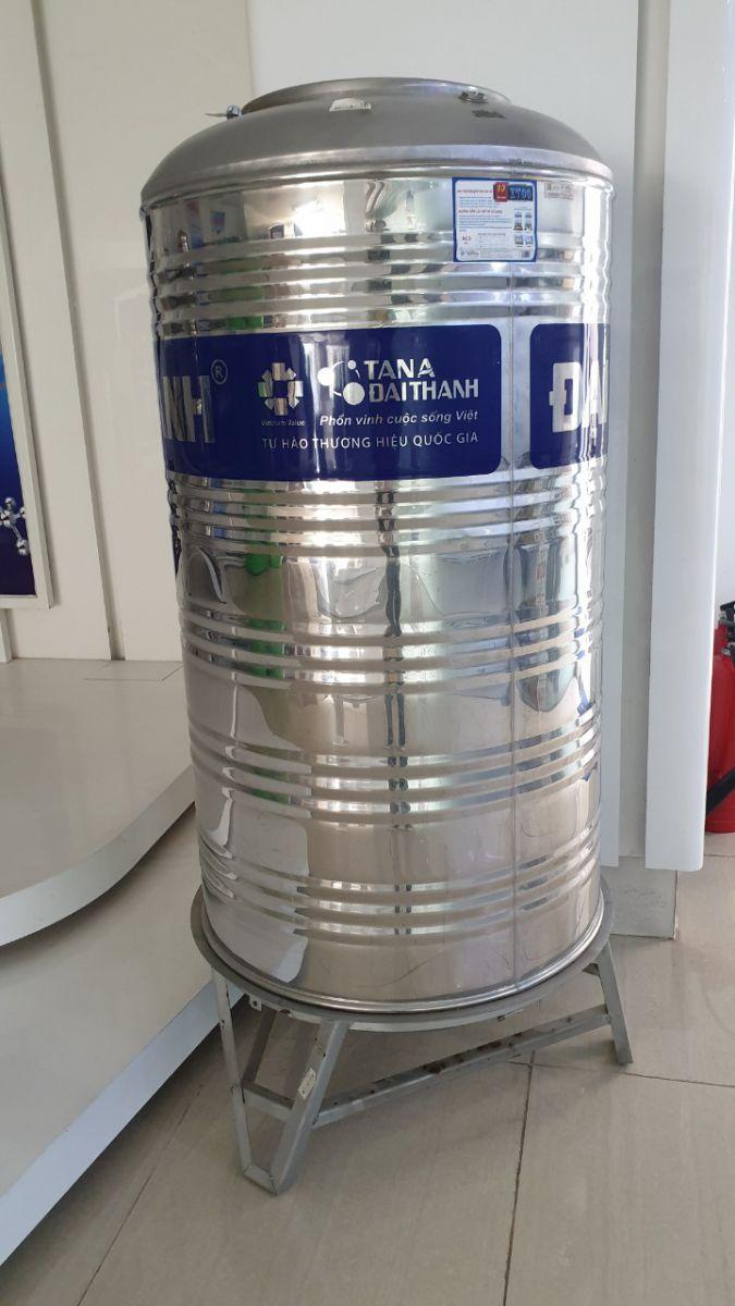 Bồn nước inox 304 đứng chính hãng Đại Thành.
